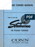 Piano Tuners Manual - Stroboconn