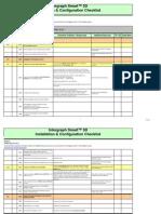 S3DInstall Checklist