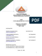ATPS - Contabilidade de Custos - FINALIZADA