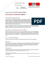 Seed Money Brazil - Call Document and Guidelines