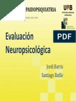 JordiBarris Santiago Batlle Evaluacion Neuropsicologica