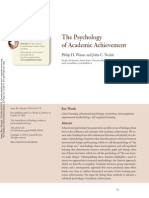 Winne & nesbit The Psychology of Academic Achievement