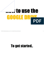How to Use the Google Drive