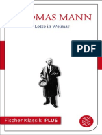 Thomas Mann - Lotte in Weimar