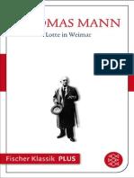 Thomas Mann - Lotte in Weimar