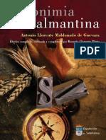 Toponimia Salmantina 84 7797 198 6