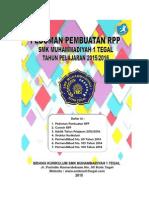 Pedoman RPP Kur 2013 SMK Muh. 1 Tegal_ 2015-2016