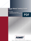 ADMET Sheet Metal Testing Guide July 2013