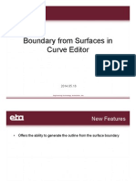 Boundary From Surfaces in Curve Editor
