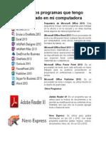 Paquetería de Microsoft Office 2013