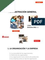 La Organizacion y La Empresa