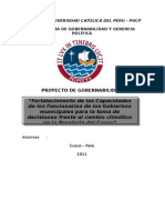 proyecto gobernabilidad