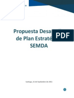 Propuesta Plan de Desarrollo Estratégico SEMDA