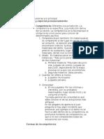 Incidentes Derecho Penal