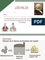 Plusvalía -Marx