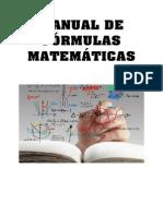 Manual de Fórmulas Matemáticas