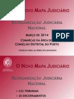 Novo Mapa Judiciário Comarca Porto