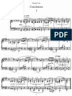 6 Consolations 6 Consolations - Piano - Liszt PDF
