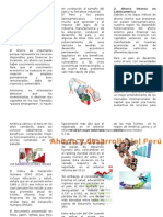 Ahorro y Desarrollo Del Perú