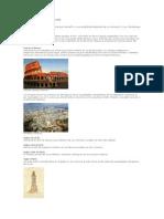 Historia Del Cemento y Concreto