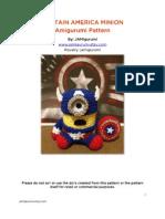 Captain America Minion Crochet