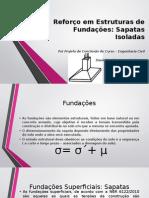 Reforço Em Estruturas de Fundações