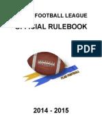 TFL Rulebook 2014-2015