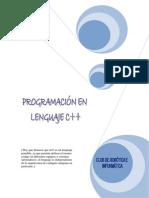 Manua básico de programación en C (español)