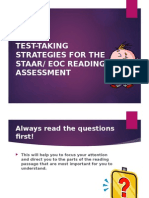 test-taking strategies for the staar eoc test ppt
