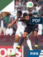 Reglamento mundial futbol sub17 chile español