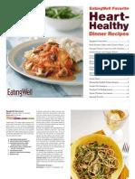 EatingWell Heart Healthy Recipes Cookbook