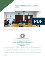 Comune Di Giardinello Sentenza Consiglio Di Stato 2015 Ricorso Al Decreto 2014 8 Agosto Decreto Scioglimento