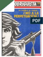 EL RODRIGUISTA (FPMR-PC) N° 30 [1988, Marzo]