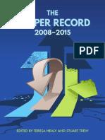 CCPA - The Harper Record 2008-2015