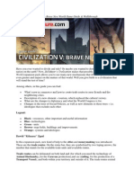 Sid Meier's Civilization v - Brave New World Game Guide