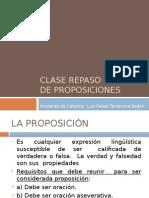 CLASE REPASO - Lógica de Proposiciones