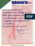 EL RODRIGUISTA (FPMR-PC) N° 32 [1988, Julio]