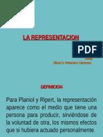 Representacion  ACTO JURIDICO PERU
