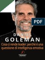 Daniel Goleman Cosa Ci Rende Leader
