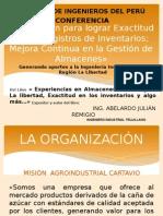 SEMINARIO CIP_ Innovacion Para Lograr Exactitud en Los Registros