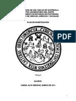 Plan de Investigacion Modelo_ 2015