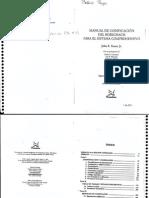 Manual de Codificación Del Rorschach - Exner