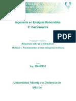 Unidad 1. Fundamentos de Las Máquinas Eólicas(1)