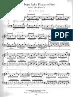 El piano SOUNDTRACK