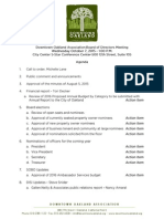 DOA Board Meeting October 7, 2015 Agenda packet
