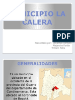 Municipio La Calera