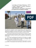 07.09.2014 Comunicado Le Regresamos El Alma Al Centro Histórico EVV
