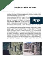 Ingenieria de Los Incas