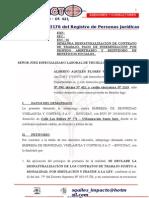 Demanda Laboral Flores Ventura, Alberto Aquiles