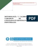 Metodología y Calibración de Variables de Control Utilizadas en Sistemas Navales e Industriales